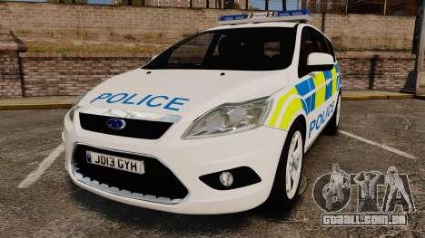 Ford Focus Estate Essex Police [ELS] para GTA 4