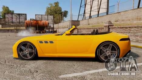GTA V Benefactor Surano para GTA 4 esquerda vista