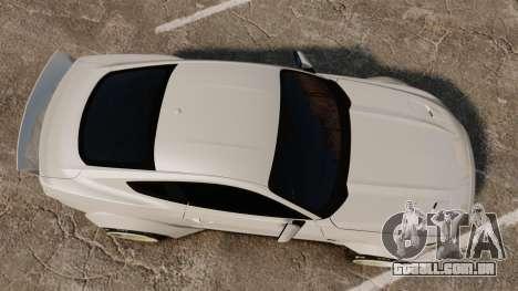 Ford Mustang 2015 Rocket Bunny TKF para GTA 4 vista direita