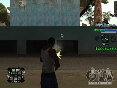 C-HUD by Powwer para GTA San Andreas terceira tela