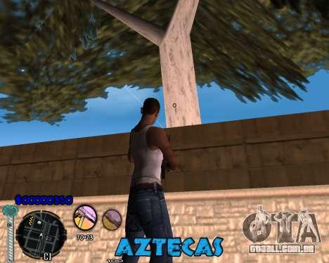 C-Hud by Abelardo para GTA San Andreas segunda tela