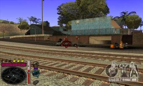 C-HUD by Andy Cardozo para GTA San Andreas quinto tela