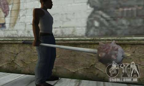 Spikes Hammer para GTA San Andreas terceira tela