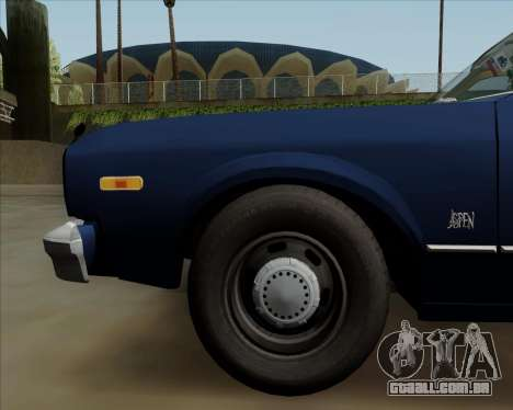 Dodge Aspen para vista lateral GTA San Andreas
