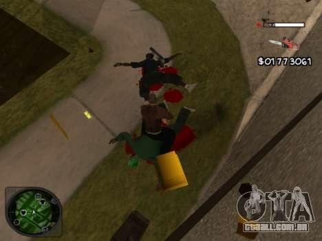 C-HUD by Azov para GTA San Andreas terceira tela