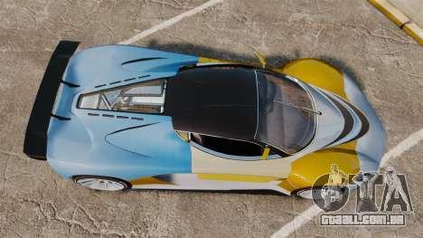 GTA V Grotti Turismo R para GTA 4 vista direita
