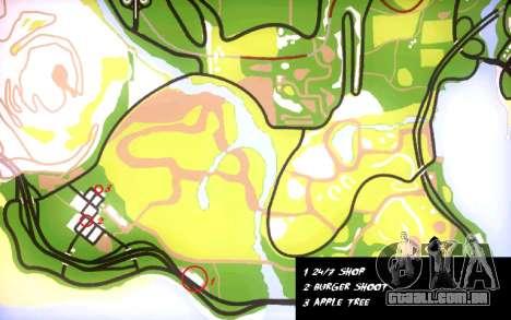 Mochila 2.0 para GTA San Andreas sexta tela