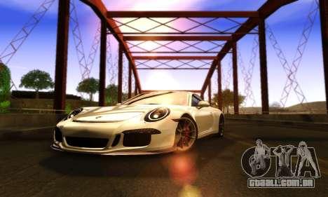 ENBSeries Exflection para GTA San Andreas quinto tela