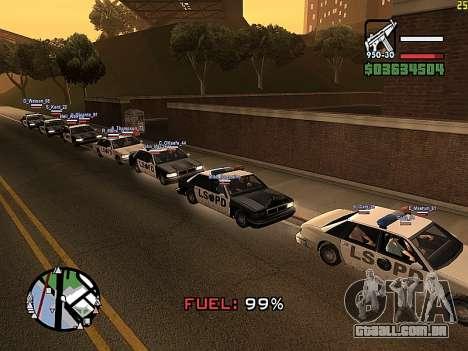 SA-MP 0.3z para GTA San Andreas terceira tela