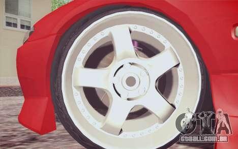 Nissan Silvia S15 BN Sports para GTA San Andreas traseira esquerda vista