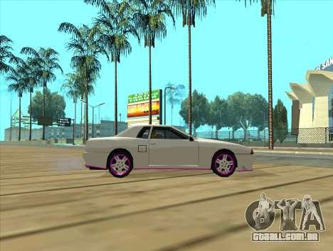 Elegy by MegaPixel para GTA San Andreas traseira esquerda vista