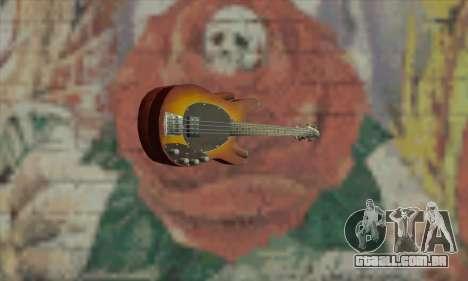 Guitar Eagle para GTA San Andreas segunda tela