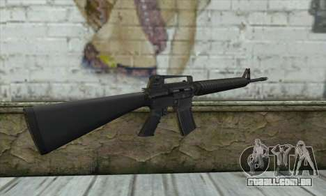 M16A2 para GTA San Andreas segunda tela