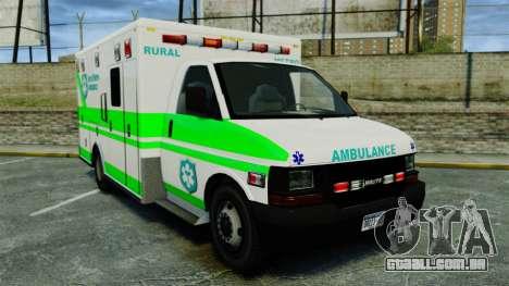 Brute Rural Metro EMS [ELS] para GTA 4