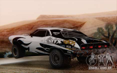 Dodge Challenger 1971 Aftermix para GTA San Andreas
