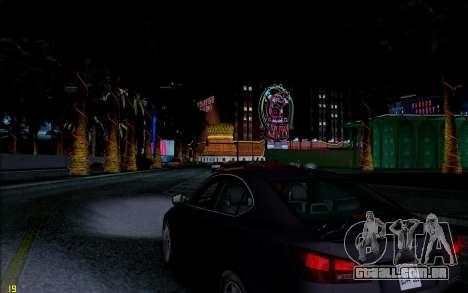 ENB HD CUDA 2014 v1.0 para GTA San Andreas por diante tela