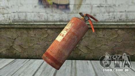 Antigo Extintor De Incêndio para GTA San Andreas