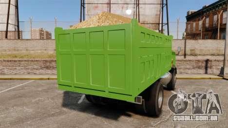 Si Buxiang Truck para GTA 4 traseira esquerda vista