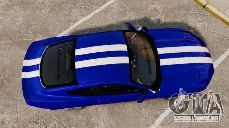 Ford Mustang GT 2015 Unmarked Police [ELS] para GTA 4 vista direita