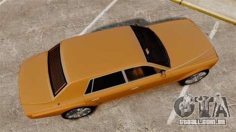 Super Diamond VIP para GTA 4 vista direita