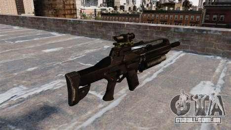 Espingarda automática de cicatriz para GTA 4 segundo screenshot
