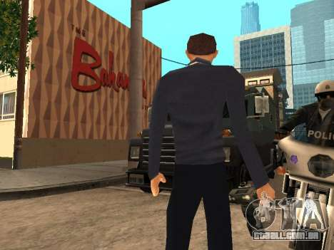 Peter Parker do jogo Spider-Man 2 para GTA San Andreas terceira tela