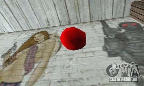 Apple Bomb para GTA San Andreas segunda tela