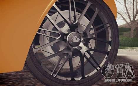 Equus Bass 770 para GTA San Andreas traseira esquerda vista