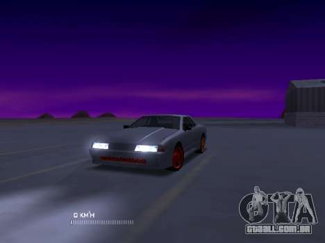 Elegy Stock Glases para GTA San Andreas