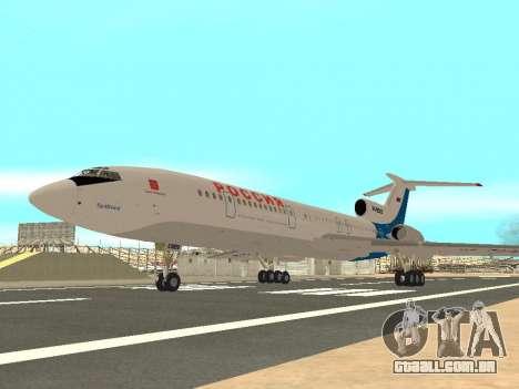 Tu-154 B-2 SCC da Rússia para GTA San Andreas vista direita