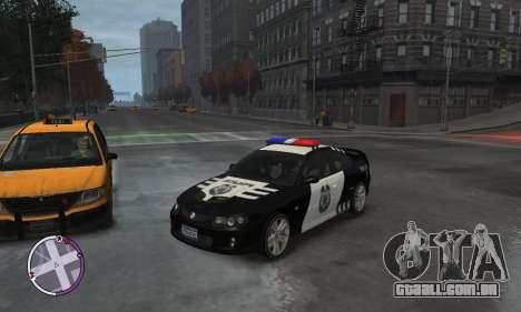 Holden Monaro CV8-R Police para GTA 4