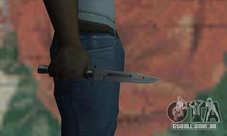 M9 Knife para GTA San Andreas terceira tela