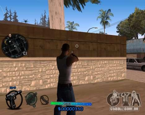 C-HUD by Vadya para GTA San Andreas segunda tela