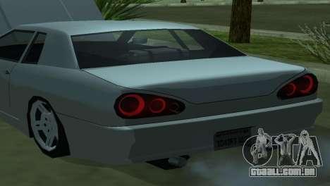Elegy 280sx para GTA San Andreas vista direita