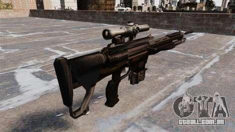 DSG-1 sniper fuzil para GTA 4 segundo screenshot