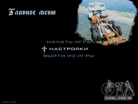 Arranque telas Soviética Caminhões para GTA San Andreas