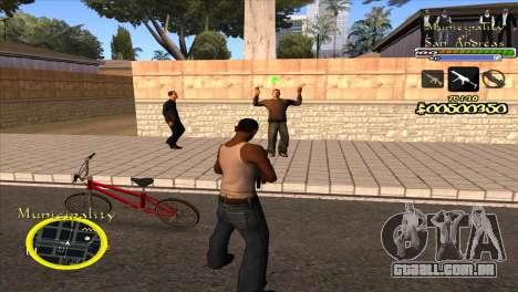 C-HUD Municipality para GTA San Andreas segunda tela