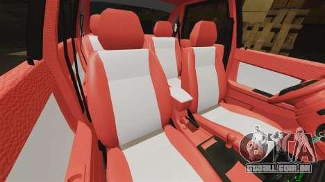VAZ-2170 Dubai para GTA 4 vista inferior
