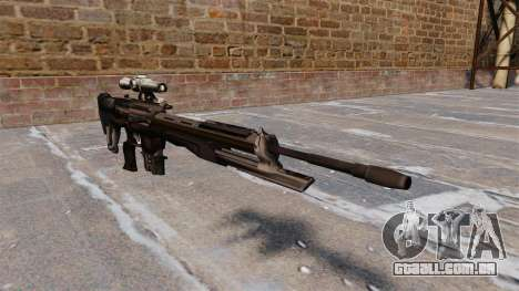 DSG-1 sniper fuzil para GTA 4