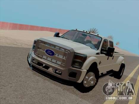 Ford F450 Super Duty 2013 para GTA San Andreas