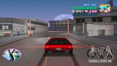 A venda ilegal de automóveis para GTA Vice City segunda tela