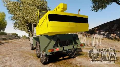 ZIL-157 GVK-32 para GTA 4 traseira esquerda vista