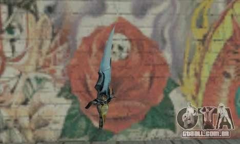 Faca do Príncipe da Pérsia para GTA San Andreas