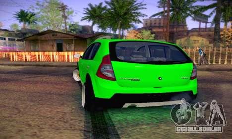 Dacia Sandero para GTA San Andreas vista direita