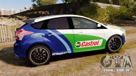 Ford Focus ST Rally para GTA 4 esquerda vista
