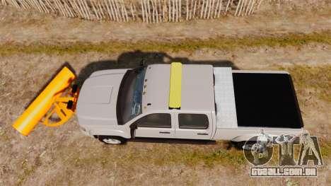 GMC Sierra 2500 2011 [ELS] para GTA 4 vista direita
