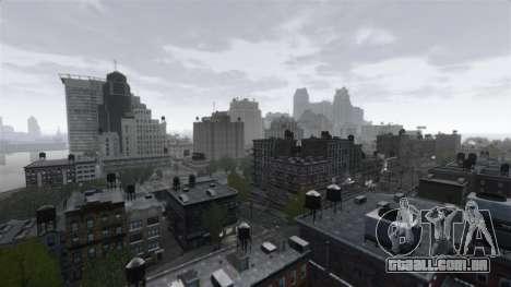 Meteorológica De Nova Iorque para GTA 4 segundo screenshot