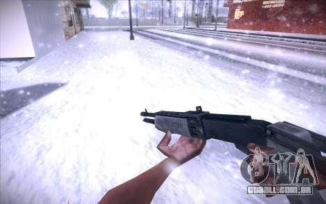 Spas 12 para GTA San Andreas segunda tela