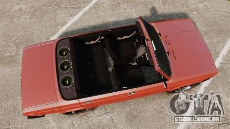VAZ-2107 Donk Estilo para GTA 4 vista direita