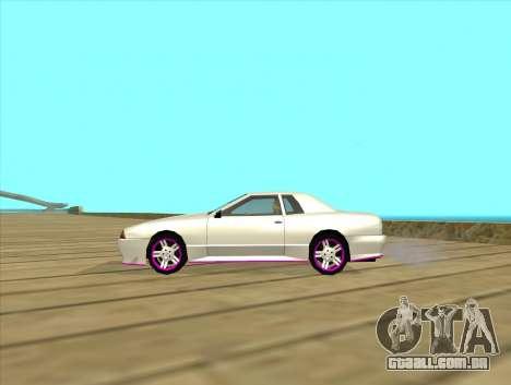 Elegy by MegaPixel para GTA San Andreas vista direita